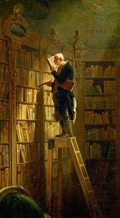 Carl Spitzweg - El devorador de libros