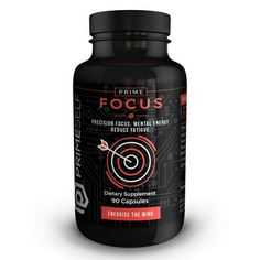 """Energise the Mind!"" Prime Focus is an all-natural supplement that combines various ingredients in order to provide the body and mind with immediate energy and precision focus.  This formulation is a healthier alternative to staying focused and alert for hours, without over-stimulation or adverse effects that can result from the use of common stimulants.   #Nootropics #Nootropic #Focus #Energy #Health #Brain #Supplement"