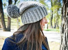 Hey, I found this really awesome Etsy listing at https://www.etsy.com/listing/293594603/crochet-hat-pattern-slouchy-crochet-hat