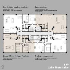 Resultado de imagen para open plan apartment building 6
