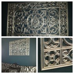 Rubber Door Mat & Rustoleum Wrought Iron Metal Wall Art!