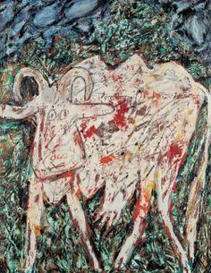 'Vache La Belle Muflée' (1954) by by Jean Dubuffet