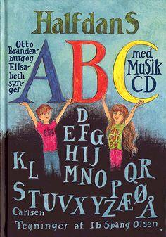 Halfdans abc med musik cd | Arnold Busck