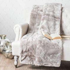 Tuvalie literie rayé Plaid Blanc//Noir//Gris 120 x 180 cm se sent doux pour la peau