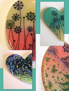 polymer clay Trabajos de alumnas, via Flickr.