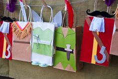 Hand made Peter Pan favor bags. #MissPartyMom #Neverland Party Tinkerbell, Peter Pan, Tiger Lily & Hook - womens leather bags, bag shopping sites, bags womens *ad