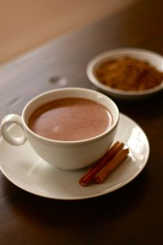 Arabic Seven Spice Hot Chocolate: perfect for adults and kids alike on Easter.