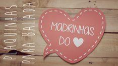 Plaquinhas de Casamento para Balada | Já fez o download das nossas plaquinhas? E o melhor de tudo, são 100% customizáveis! | blogdamariafernanda.com