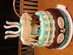 The horse birthday cake I designed and made for my twin girls' 7th birthday.