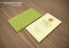 Frio Smoothies Startup Branding by Ihsan Farhan, via Behance