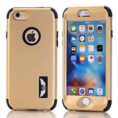 iPhone 6S Plus Case, Pandawell™ Shockproof Hybrid High Impact Hard Plastic+Soft Silicon Rubber Armor Defender Case Cover for Apple iPhone 6S Plus / 6 Plus 5.5 inch (Gold)  http://topcellulardeals.com/product/iphone-6s-plus-case-pandawell-shockproof-hybrid-high-impact-hard-plasticsoft-silicon-rubber-armor-defender-case-cover-for-apple-iphone-6s-plus-6-plus-5-5-inch/?attribute_pa_color=gold  iPhone 6S Plus Case, High Quality hard and durable plastic + rubber Full Protection A