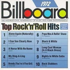 For Pops since he loves his restored record player...... Billboard Top Rock'n'Roll Hits for the year they were married