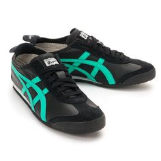 Asics Onitsuka Tiger Mexico 66 Casual Shoes BLACK-MINT LEAF THL7C2-9067