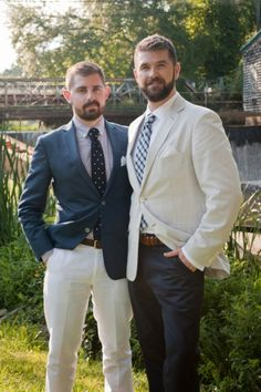 Gay Wedding coordinating but not the same