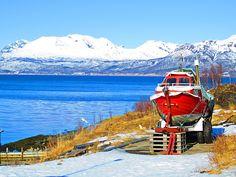 Boat , at Målsnes , Norway