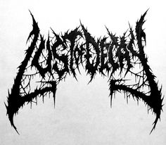 Lust of Decay death metal logo