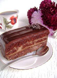 Торт «Шоколадное танго» для друзей с благодарностью пошаговый рецепт с фотографиями