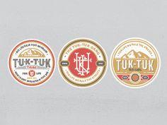 Tuk Tuk Badges