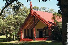 Maori Marae (meeting house)