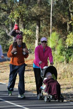 Family fun at the 2013 Kaiser Realty by Wyndham Vacation Rentals Half Marathon and 5K Run in Orange Beach!