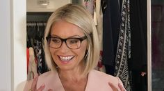 Kelly Ripa's new Evereson Warby Parker eye glasses. Kelly's Fashion Finder
