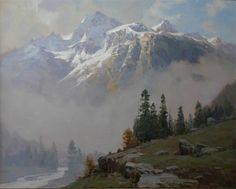 Aleksander Babich. Oil. Russian Artist
