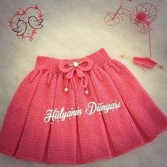 49 Ideas Knitting Skirt Pattern Kids For 2019 Baby Cardigan Knitting Pattern, Crochet Baby Beanie, Crochet Hat For Women, Knit Baby Dress, Baby Knitting Patterns, Crochet For Kids, Baby Girl Skirts, Baby Skirt, Knitting Blogs
