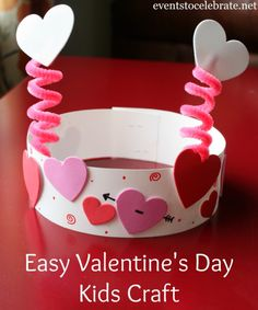 Valentine's Day Party Activities – events to CELEBRATE! Valentine's Day Party Activities – events to CELEBRATE!,Kids Valentine's Day Valentines Day Kids Craft – eventstocelebrate… Related Best DIY Valentine's Day Decor Ideas - Valentine. Valentine's Day Crafts For Kids, Valentine Crafts For Kids, Daycare Crafts, Valentines Day Activities, Craft Activities, Preschool Crafts, Valentines Crafts For Kindergarten, Valentines Day Craft Preschool, Valentines Party Ideas For Kids Games
