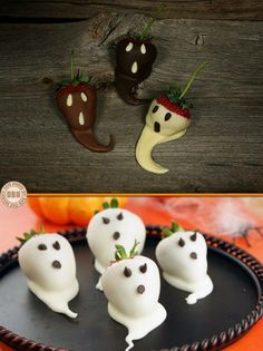 "Anyone for some ghostly strawberries? For more spooky food ideas, view our ""Halloween Food Ideas"" album on our site at http://theownerbuildernetwork.co/halloween-food-ideas/ Got an opinion? Let us know by writing your thoughts below."