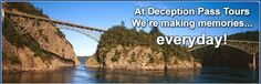 Deception Pass is one of the most visited attractions in Washington - Deception Pass Tours