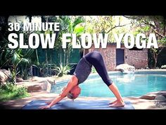 So good at toning AND slowing me down that I fell asleep after! 30 Minute Slow Flow Yoga - Five Parks Yoga - YouTube