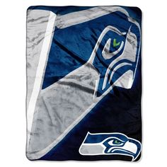 NFL Seattle Seahawks 60Inchby80Inch Micro Raschel Blanket Bevel Design >>> Be sure to check out this awesome product.