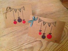 Handmade christmas cards