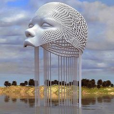 Sculpture 3D, by Chad Knight