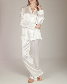 "La Perla - Studio Pajama Set : Ivory, Olivia Pope, Scandal, Episode 220 ""A Woman Scorned"""