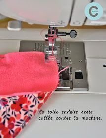 Gecoat canvas naaien … Tips en trucs - Diy Ideen Coin Couture, Couture Sewing, Techniques Couture, Sewing Techniques, Sewing Hacks, Sewing Tutorials, Sewing Tips, Fat Quarter Projects, Leftover Fabric