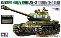 Модель ИС-2 как в World of Tanks