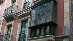 fabricación miradores en acero, sitos en calle San Bernardo Gijón carpintería metálica Talleres Lobón