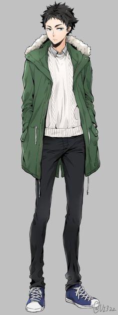 akaashi is so prettyyy / akaashi keiji haikyuu Manga Boy, Manga Anime, Anime Art, Otaku, Fanarts Anime, Anime Characters, Character Art, Character Design, Kleidung Design