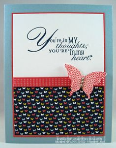 Thinking of You Butterfly Card with 5 Card Making Tips