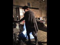 Outlander Sam Heughan on set in Edinburgh season 3  @surana17