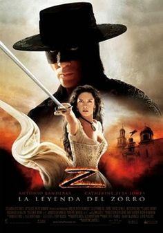 """Ver película La leyenda del Zorro online latino 2005 gratis VK completa HD sin cortes descargar audio español latino online. Género: Acción, Aventura, Romántica Sinopsis: """"La leyenda del Zorro online latino 2005"""". """"The Legend of Zorro"""". Tras ayudar con su espada a que California"""