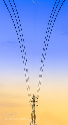 High-tension Art - Pinned by Mak Khalaf The art of electric poles Abstract Electricartartisticploes by janakawijekoon