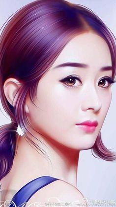 Korean Art, Asian Art, Japanese Drawings, Beautiful Fantasy Art, Digital Art Girl, Beauty Full Girl, Art Challenge, Beautiful Asian Women, Fantasy Girl