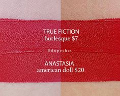 Anastasia American Doll = True Fiction Burlesque #dupe