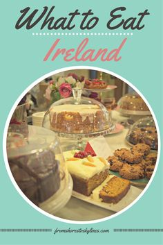 "From Irish coffee to traditional soda bread and ""pudding"", Ireland is full of great food finds!"