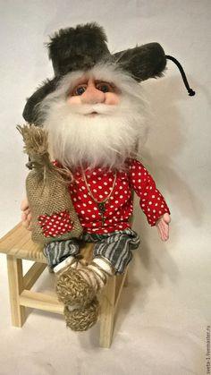 Купить домовой - ярко-красный, домовой, оберег, семейный очаг, интерьерная кукла