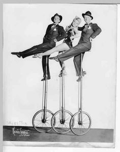 Circus Unicycle Troupe Old Photos, Vintage Photos, Motorbike Insurance, Circus Party, Circus Circus, Sideshow Freaks, Human Oddities, Flotsam And Jetsam, All Falls Down