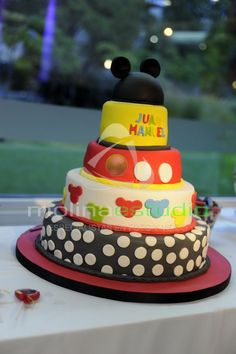 #Mickey Mouse Party  #Mickey Mouse Cake