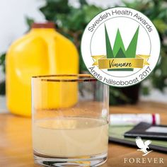 Our Aloe Vera Gel has won the 2017 Swedish Health Award in the category 'Health Boost'. have you tried our Aloe Vera Gel yet? #ForeverProud.